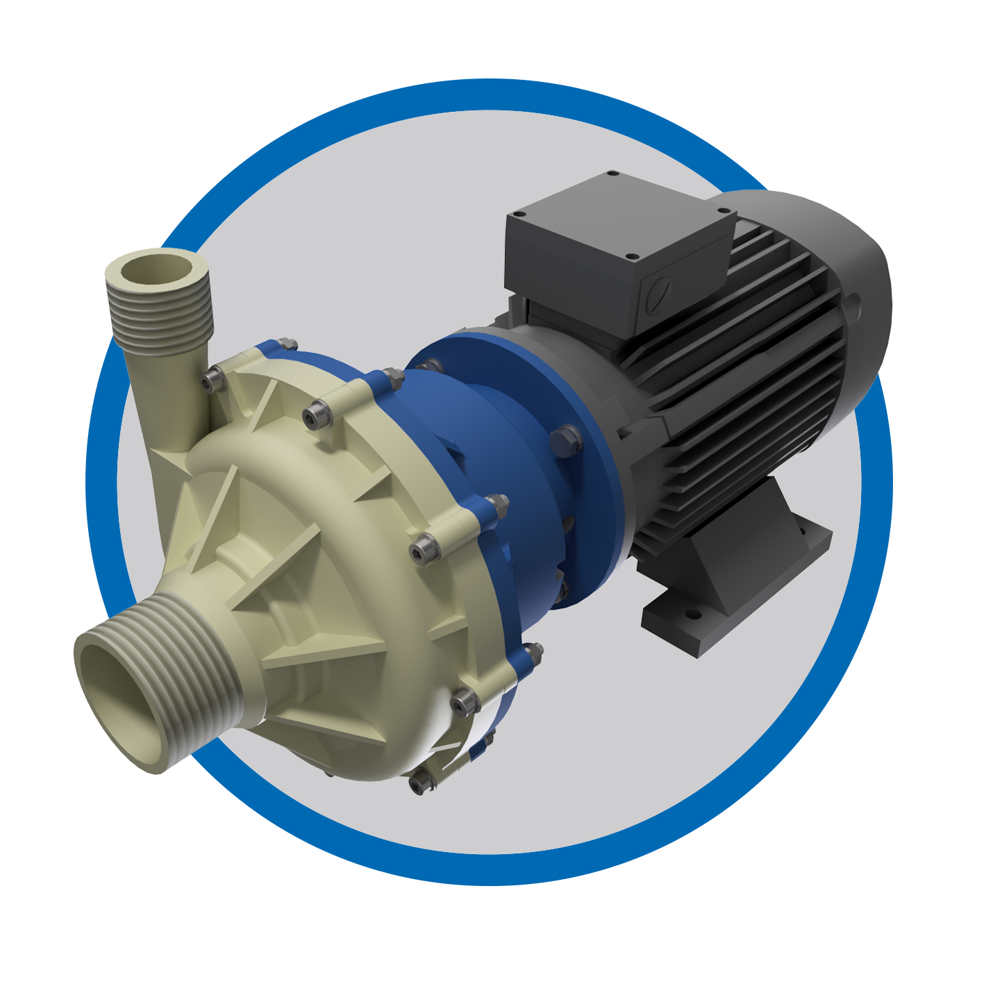 Magnetic Driven Chemical Centrifugal Pumps